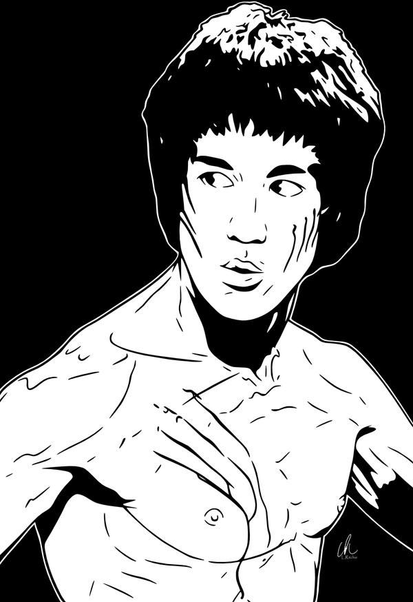 bruce lee coloring pages - photo#22