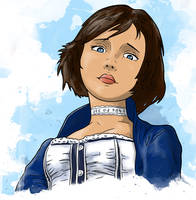 Bioshock Infinite - Elizabeth by LRitchieArtworx