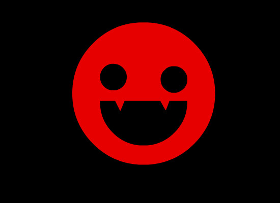 Smiley Vampire by RockYaMind