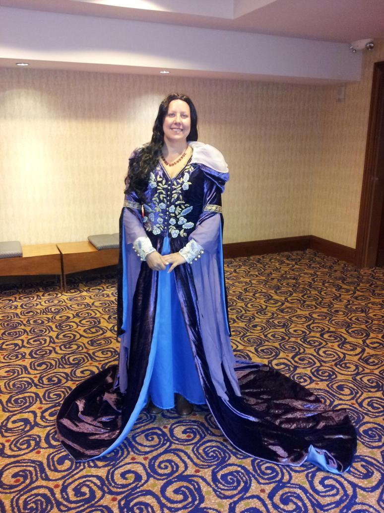 Morgana Purple Velvet Riding Gown by Samara2187 on DeviantArt