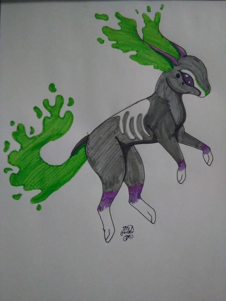 Little Toxic Creature by shilohmustang