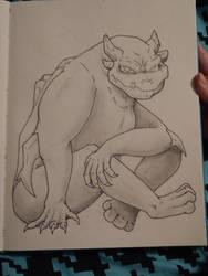 Gem Beast by FoalFire
