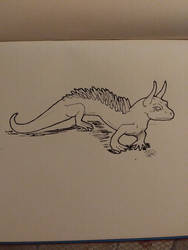 Inktober day 1- Poisonous by FoalFire