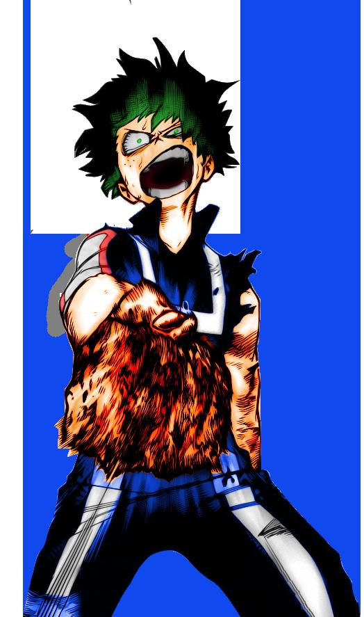 My hero academia Midoriya Izuku by Fundral on DeviantArt