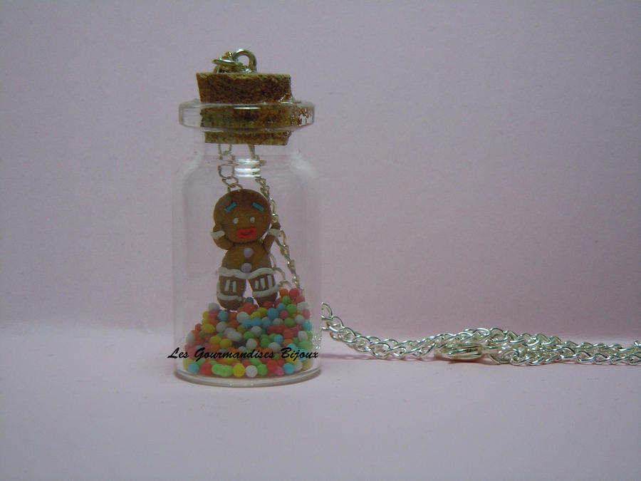 FIMO ZENZY  MINI BOTTLE by GourmandisesBijoux
