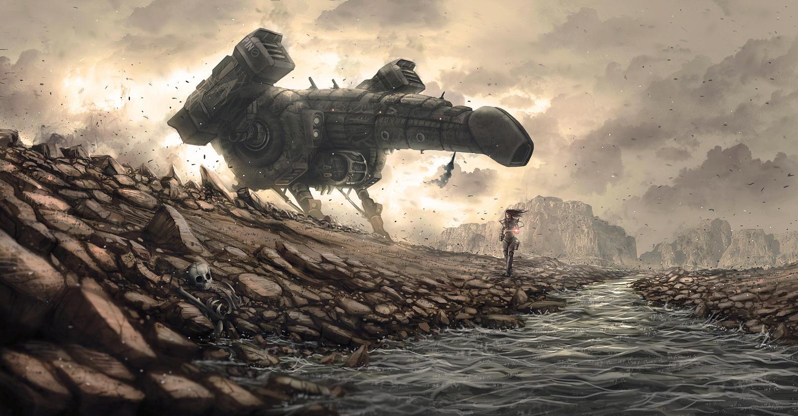 The warrior Ship penis by badillafloyd