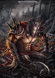 Spawn The Dark Ages by badillafloyd