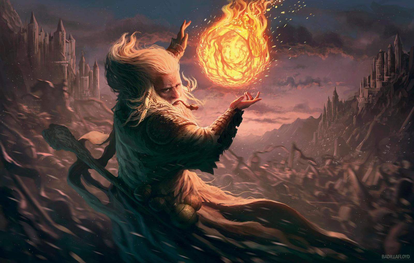 Bola de fuego - MyL by badillafloyd