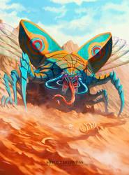 Escarabajo de las arenas - MyL