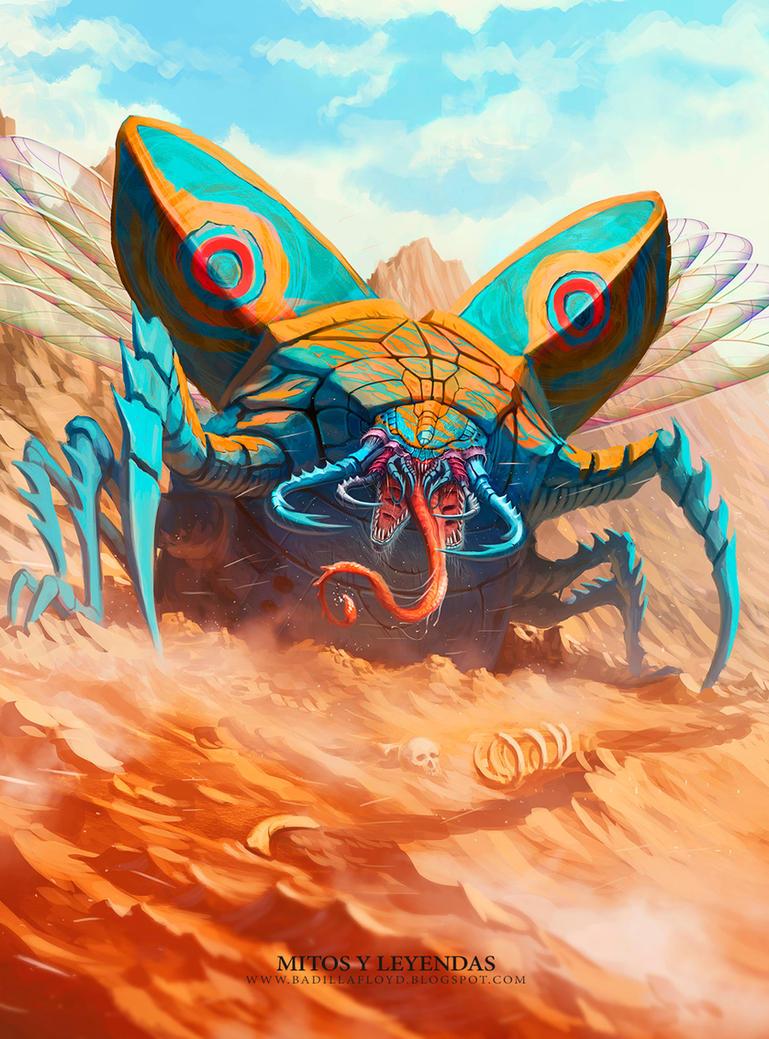 Escarabajo de las arenas - MyL by badillafloyd