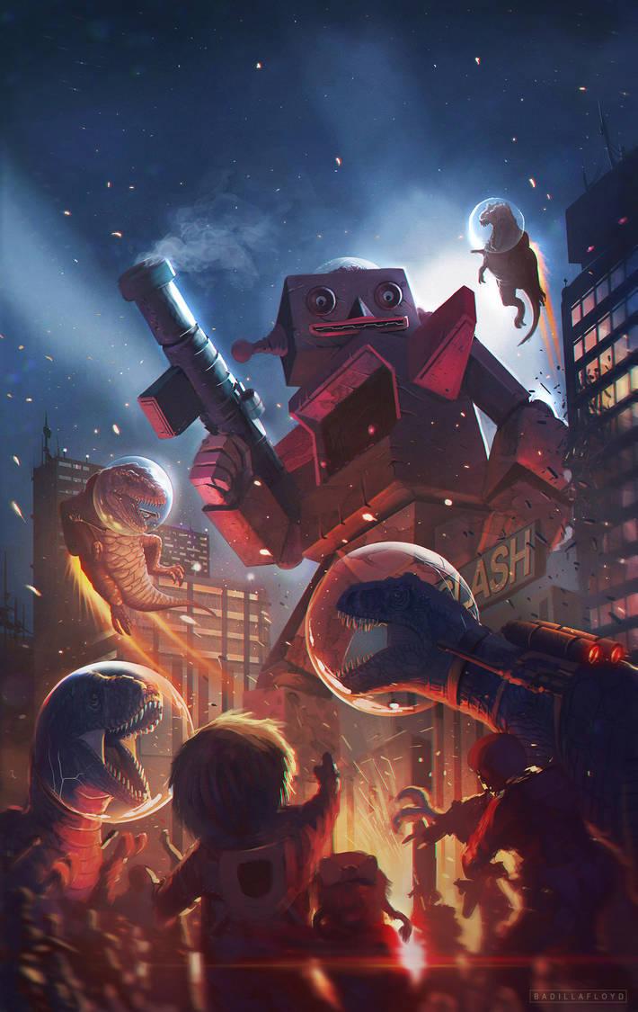 Robzybot Spaceclash 2 by badillafloyd