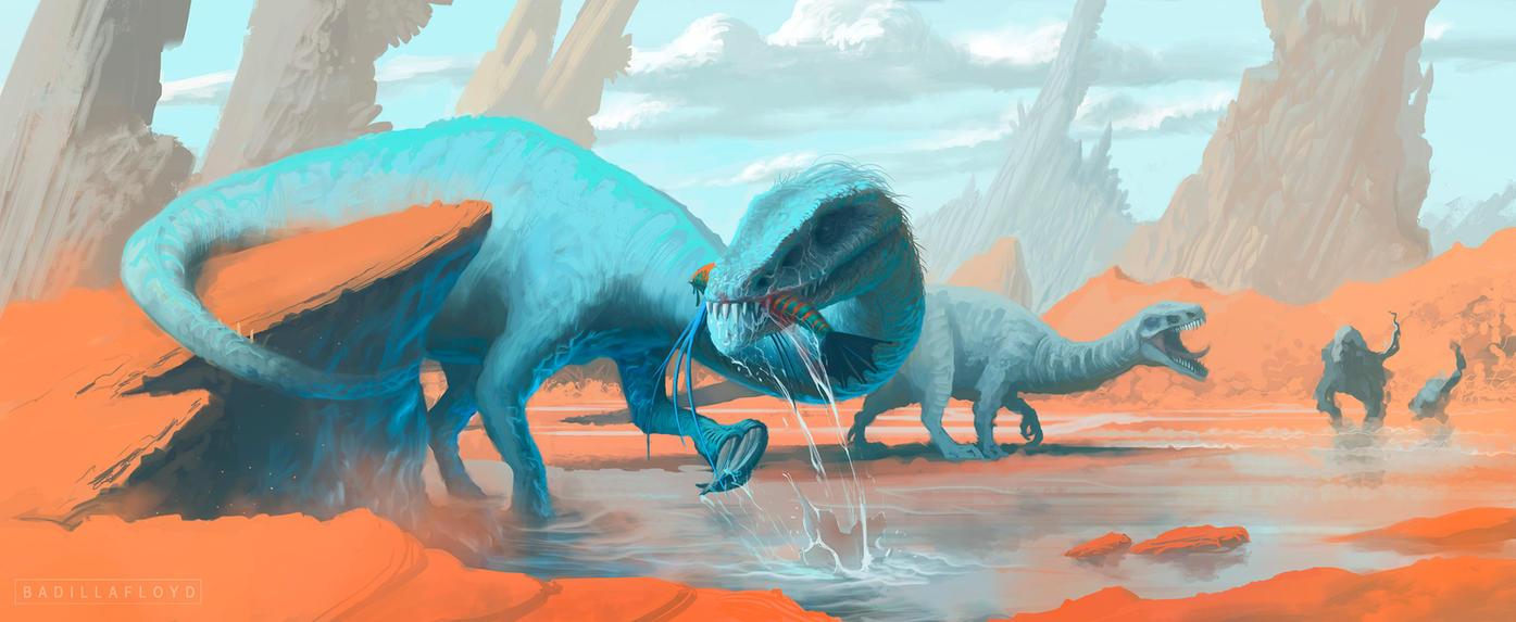 Dinosaurs concept by badillafloyd