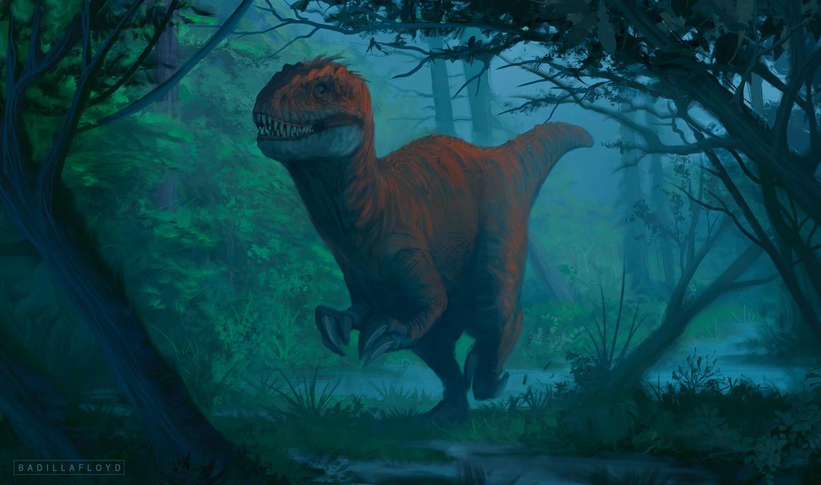 Allosaurus Coldwave by badillafloyd
