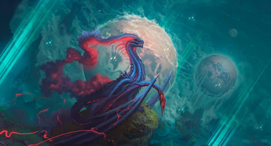 Guardian of planets field by badillafloyd