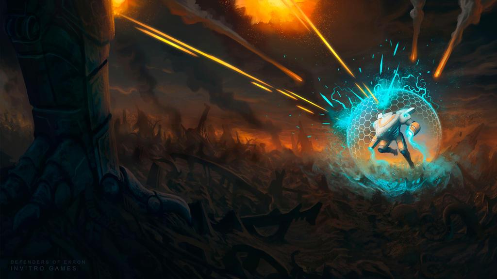 Eneas battle concept by badillafloyd