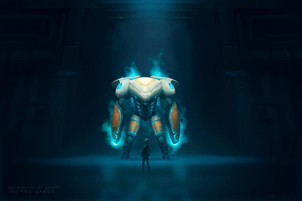 Defenders of Ekron - promotional art by badillafloyd