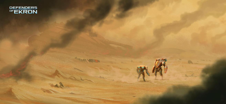 Khara Desert by badillafloyd