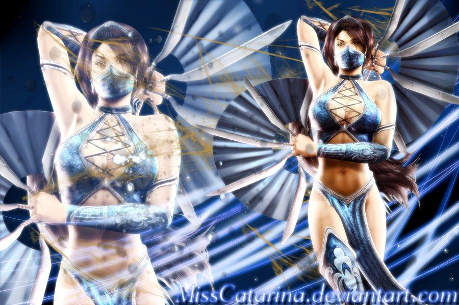 Mortal Kombat Kitana Wallpaper By MissCatarina