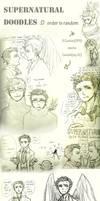 SPN doodles by KuroLaurant