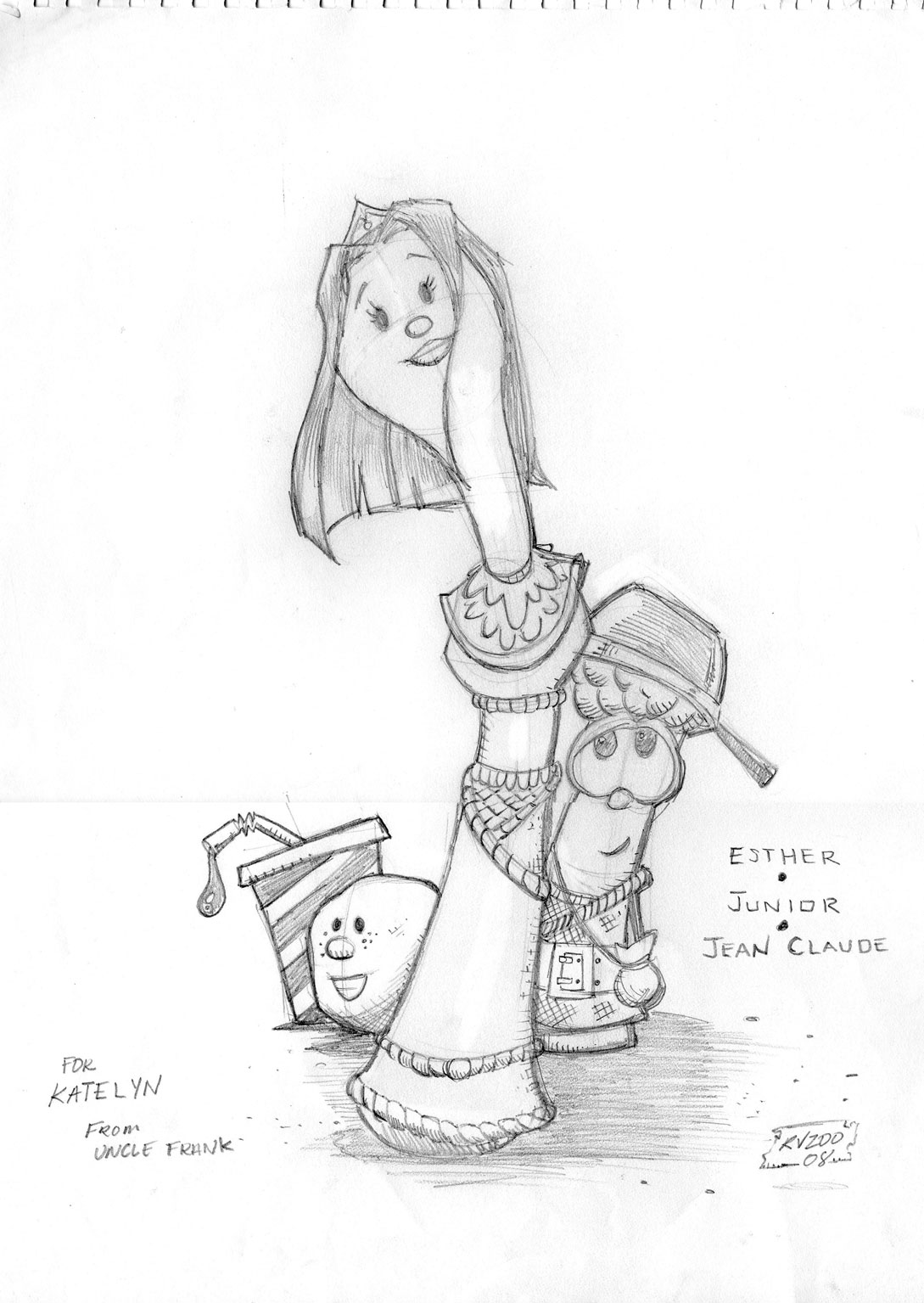 Free bible coloring pages queen esther - Veggietales Queen Esther Coloring Page Sketch Template