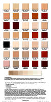 Skin colored swatch