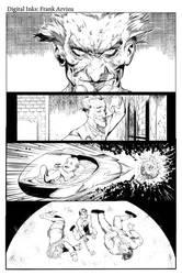 BATMAN: ARKHAM ASYLUM by Colorzoo