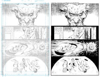 PENCILS AND DIGITAL INKS Batman: Arkaham Knight by Colorzoo