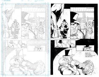 DIGITAL INKS Batman: Arkaham Knight by Colorzoo