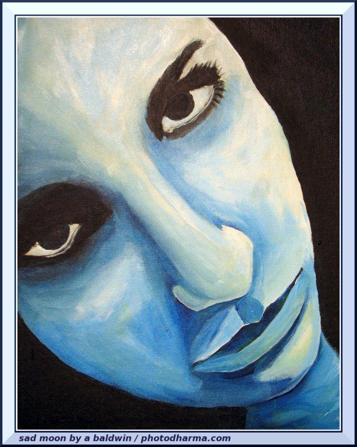 sad moon 666 by abaldwin
