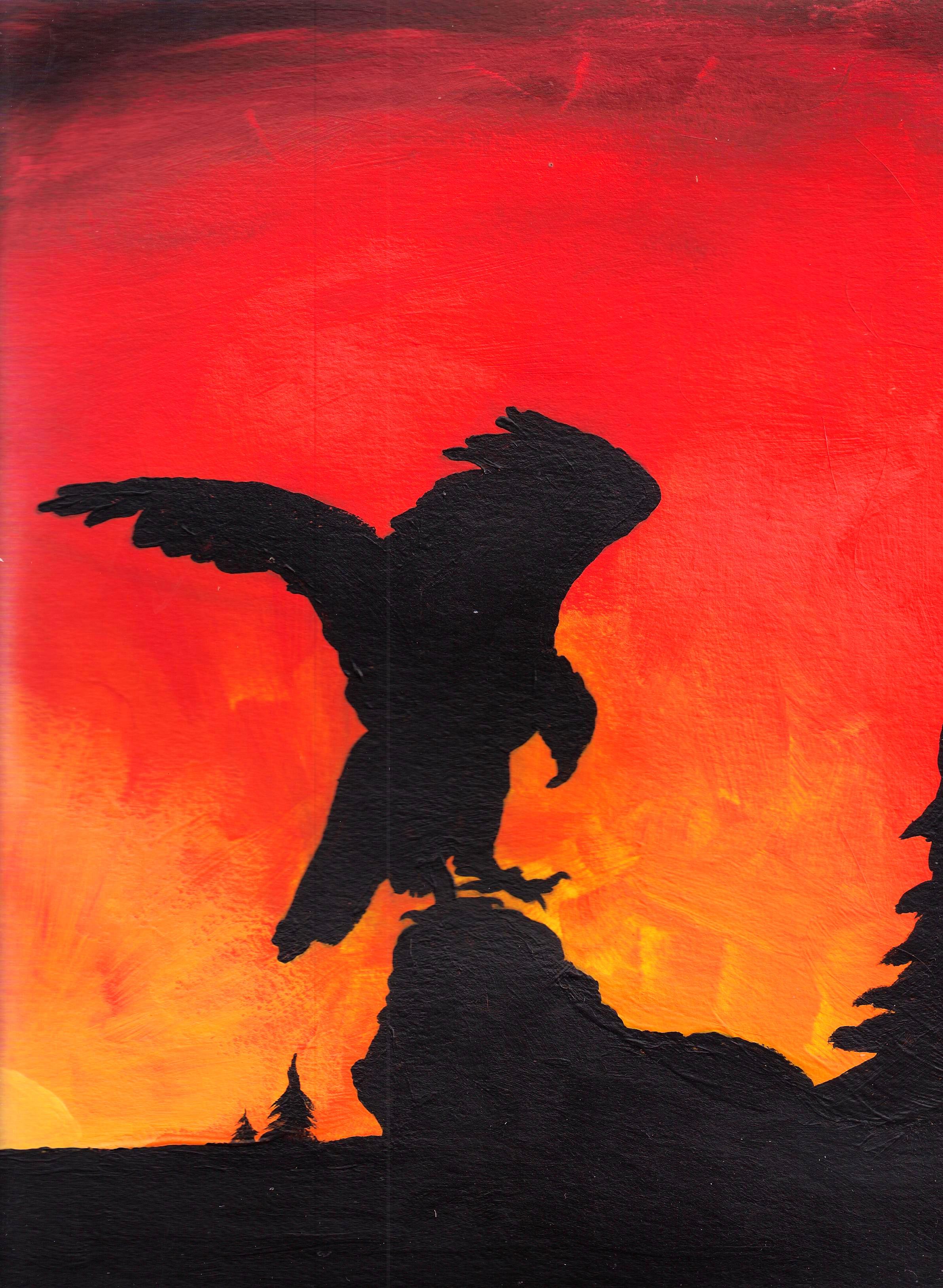 Eagle at Sunset-TonyBaldwin by abaldwin