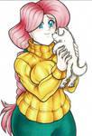 Fanart: Fluttershy's Puppy Love
