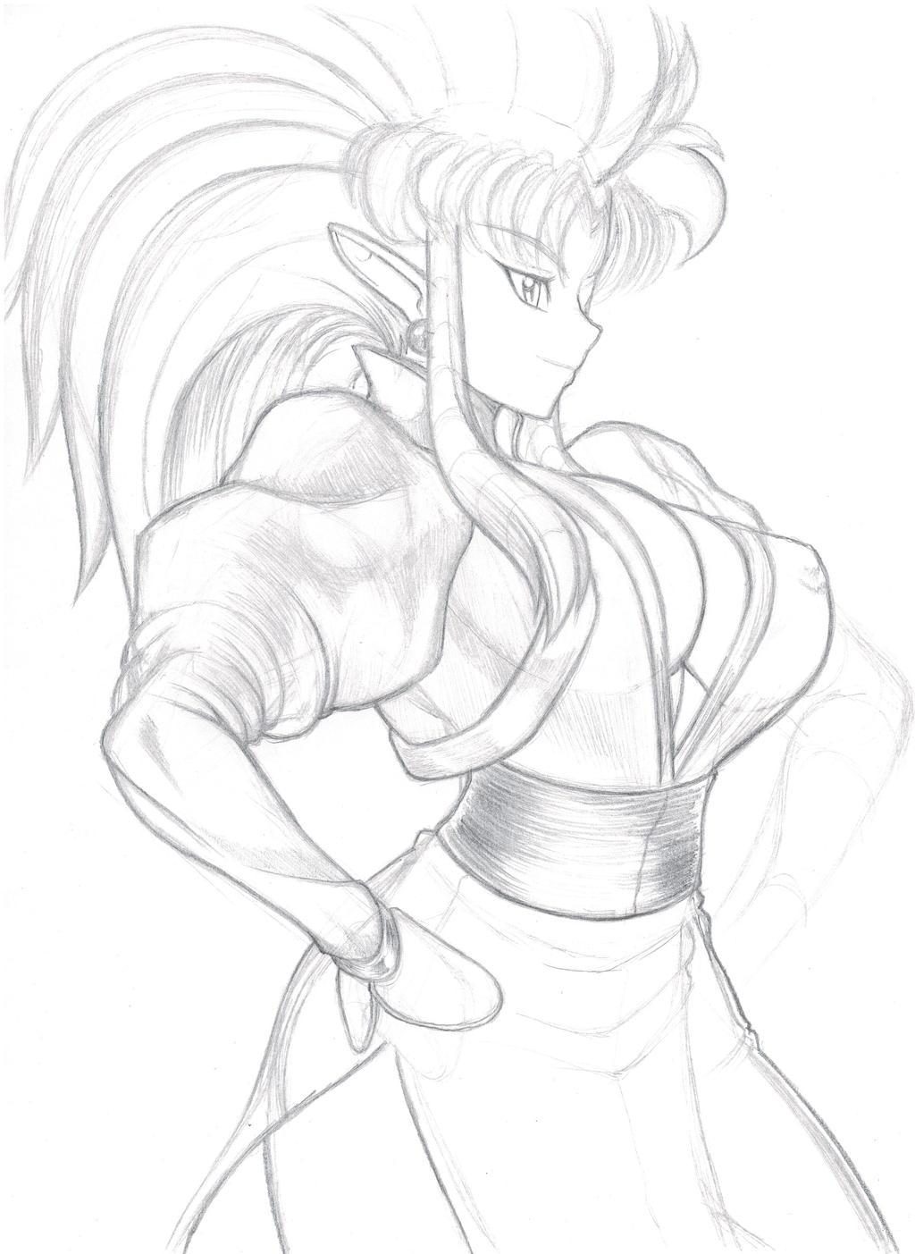 Ryoko Sketch