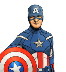 Captain America from The Avengers by ShVagYeR