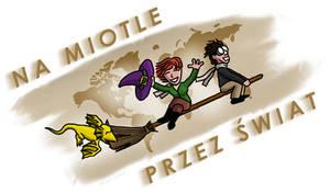 Na miotle przez swiat - logo