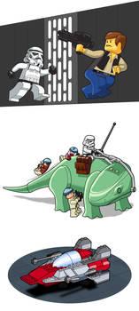 Lego Star Wars showcase