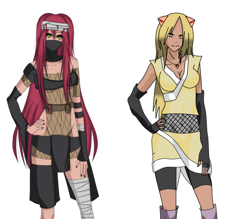 Naruto Oc Collab by AikoHaea