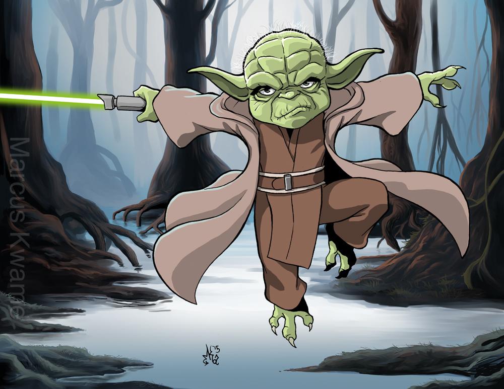 Master Yoda by marcuskwame