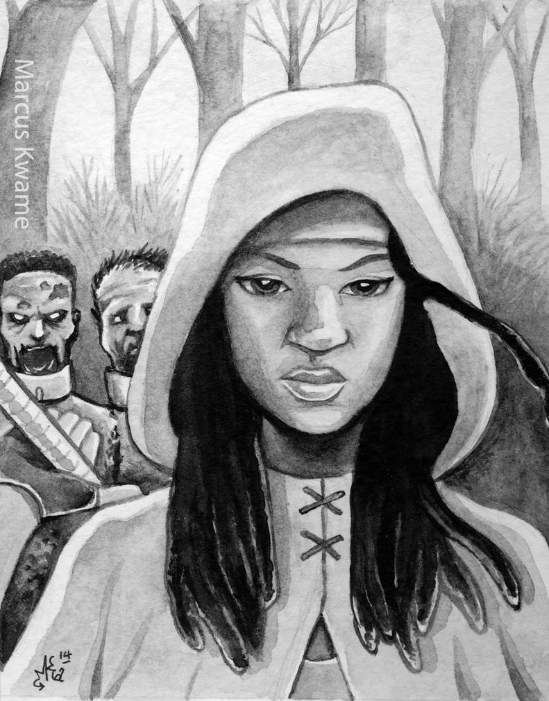 Michonne by marcuskwame
