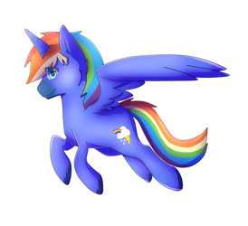 Rainbow Gale by Rainbow-Gale