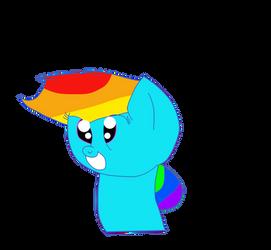 Ponyhead by Rainbow-Gale