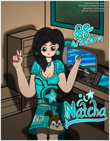 Natcha (present for AquaChoco1997 and NamPisutti) by Silverio13