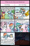 When no one is watching (Rainbow Dash)