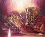 Praying Jesus by tpatrick