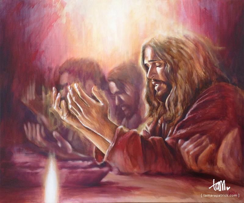 Praying Jesus by tpatrick