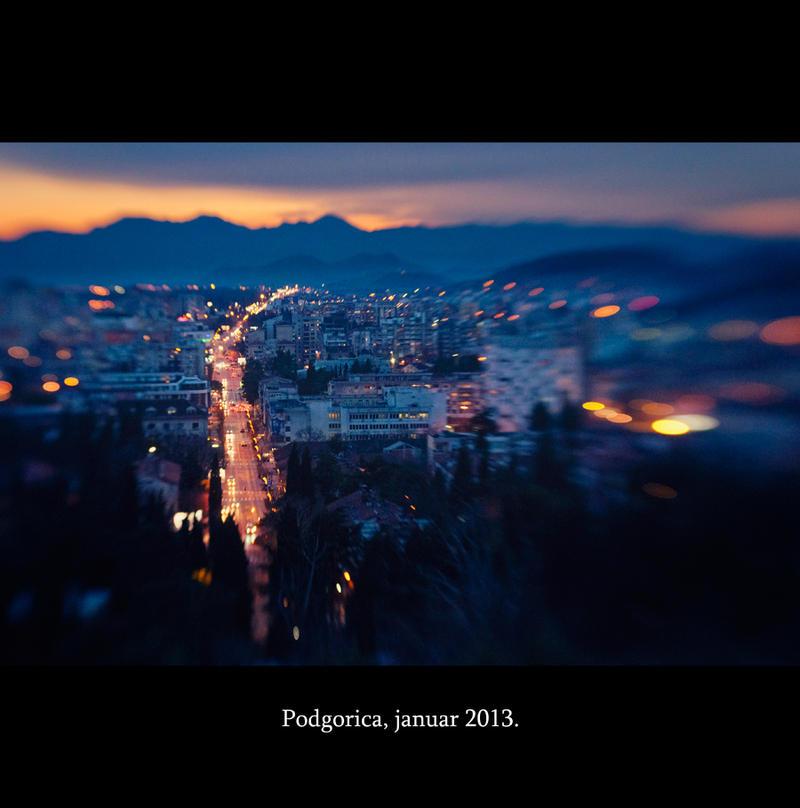 Podgorica Podgoricanima by psdlights