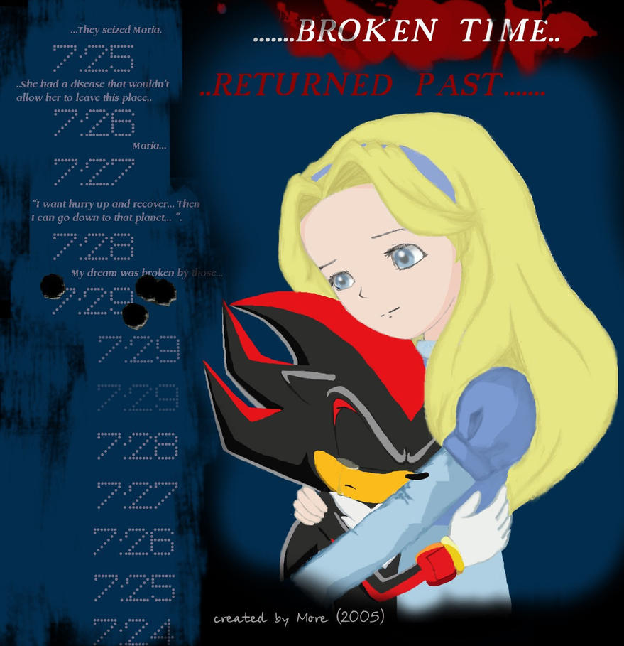 Baby Shadow The Hedgehog And Maria