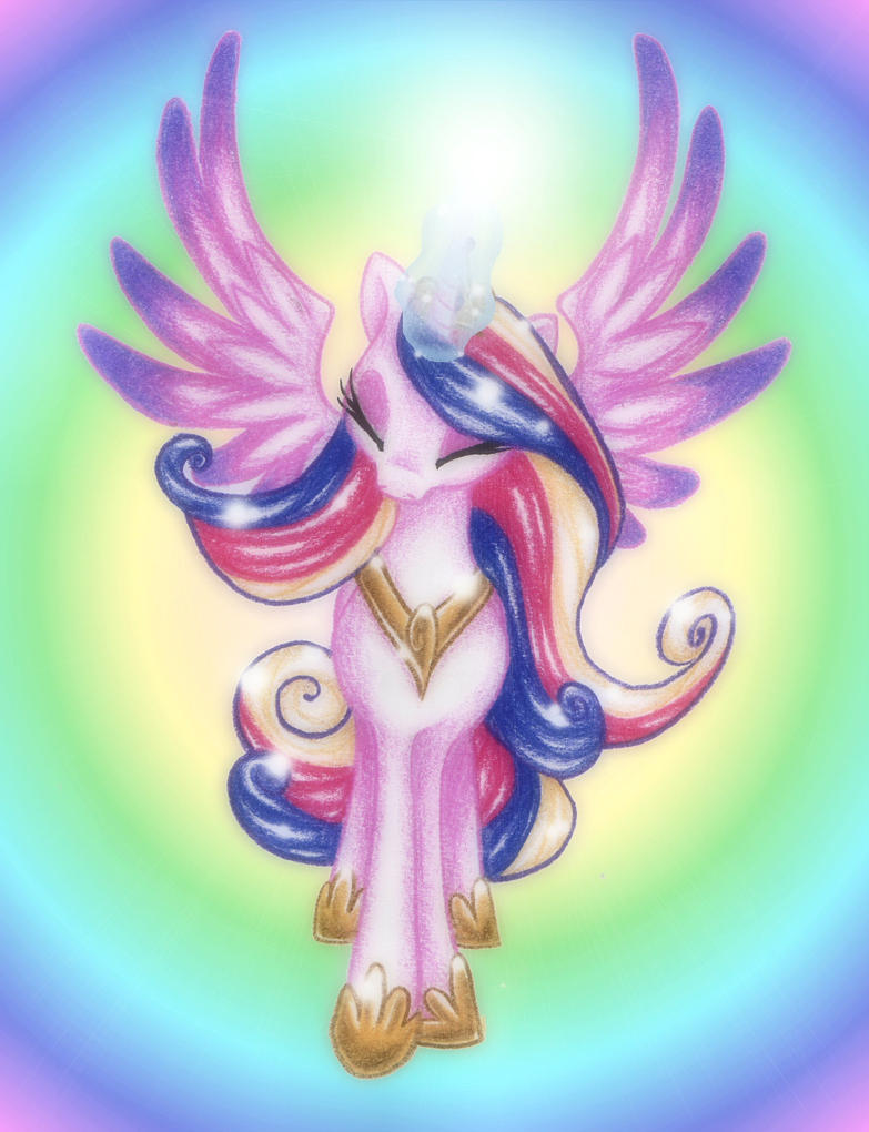 Princess Cadance by PeachPalette