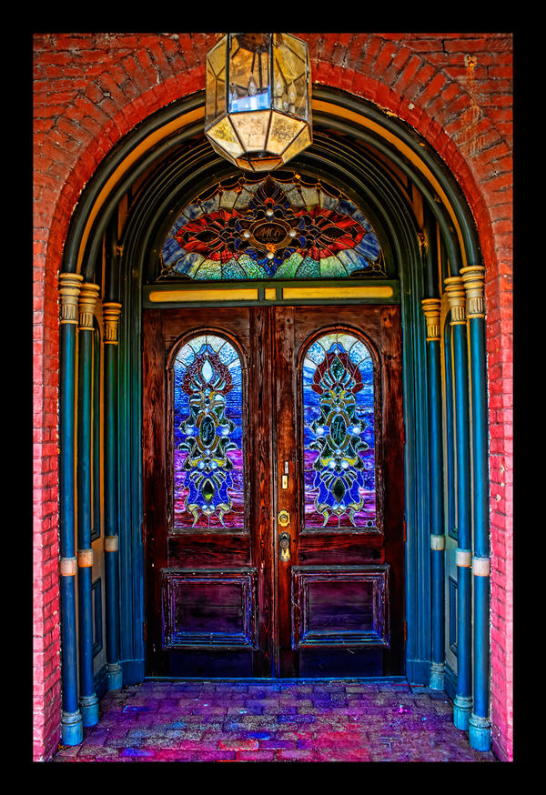 Stained Glass Door By Joelht74 On Deviantart