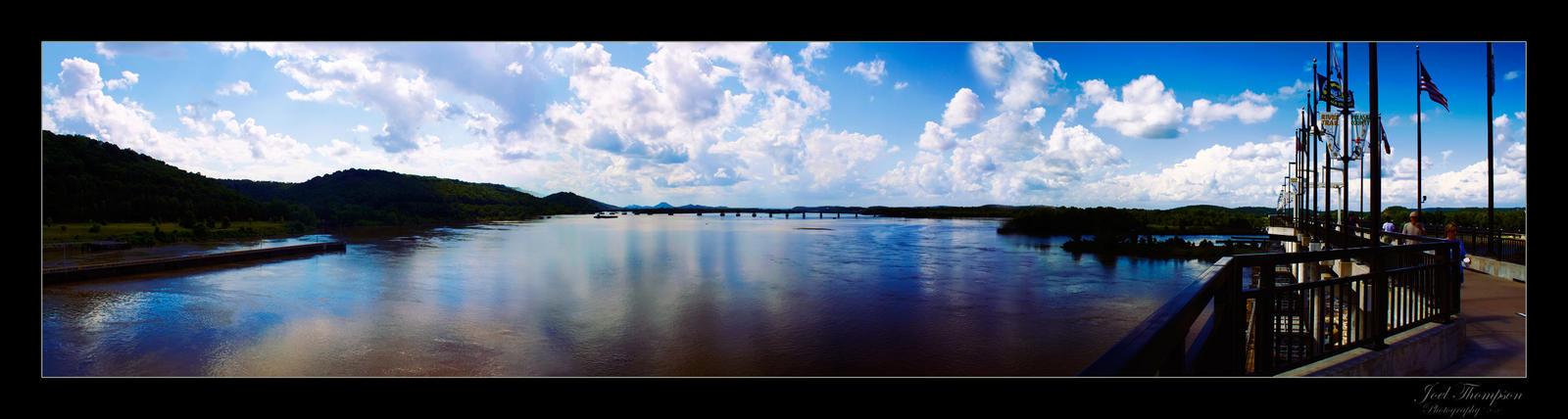 Arkansas River Damorama by joelht74