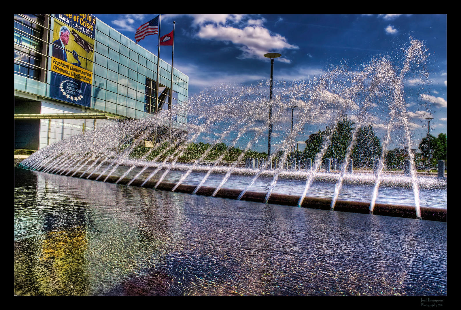 Clinton's Fountain HDR II by joelht74